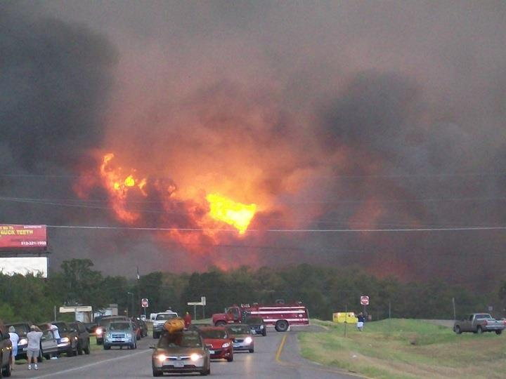 The Role Of Social Media In The Bastrop Texas Fires Digett