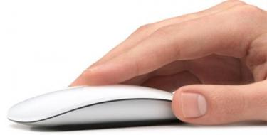 Apple's Magic Mouse is an example of easy scrolling
