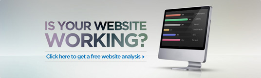 Request a free website analysis